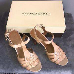 Franco Sarto Tan Heels